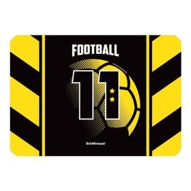 Накладка на стол пластиковая А4, ErichKrause® Football Time, 297 х 210 мм, 550 мкм Ош
