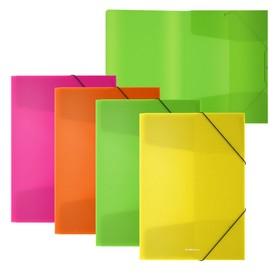 Папка на резинках А4 ErichKrause 'Diagonal Neon' микс 50383 Ош