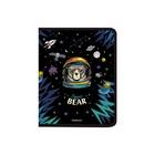 Папка пластик А4+, ErichKrause, молния вокруг, Space Bear