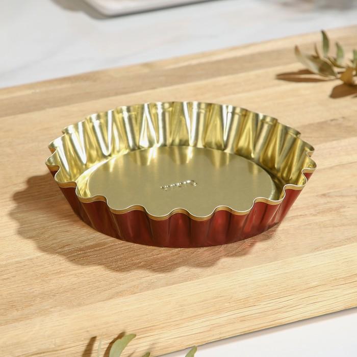 Форма для выпечки булок 1, антипригарное покрытие, h2,5 см, d1412 см