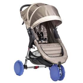 Чехлы на колеса прогулочной коляски, 4 шт., в сумке, цвет голубой Ош