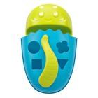 Органайзер-сортер DINO с полкой для игрушек и банных принадлежностей, цвет голубой