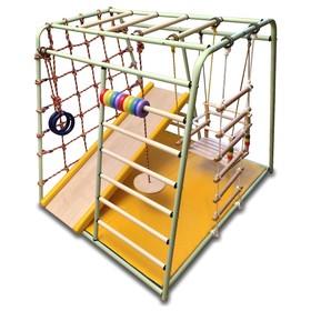 Детский спортивный комплекс Вертикаль «Весёлый малыш» MAXI NEW COLOR, цвета микс