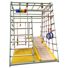 Детский спортивный комплекс Вертикаль «Весёлый малыш» NEXT new color, 1310 × 1070 × 1470 мм, цвета микс
