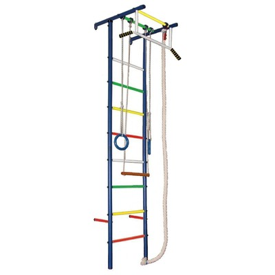 Детский спортивный комплекс Вертикаль «ЮНГА 3.1», 570 × 650 × 2350 мм - Фото 1