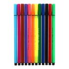 Фломастеры 12 цветов «Профи-Арт», трёхгранный корпус, вентилируемый колпачок - Фото 2