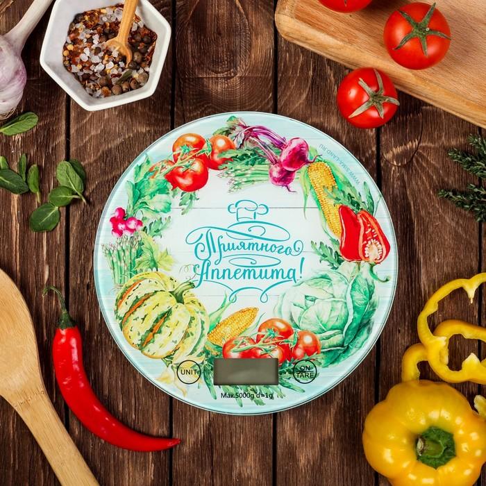Весы кухонные электронные «Приятного аппетита», до 5 кг
