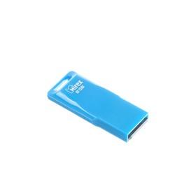 Флешка Mirex MARIO BLUE, 8 Гб, USB2.0, чт до 25 Мб/с, зап до 15 Мб/с, синяя Ош