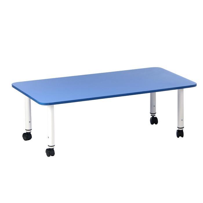 Стол детский регулируемый Подкатной, группа 0-3, 1100х580, Синий