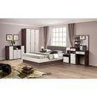 Спальня «Венеция 9», кровать 140 ? 200 см, шкаф 3х дв., 2 тумбочки, комод, стол туалетный