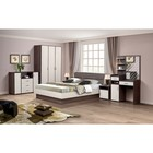 Спальня «Венеция 9», кровать 160 ? 200 см, шкаф 3х дв., 2 тумбочки, комод, стол туалетный