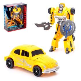 Робот-трансформер «Автобот», цвет жёлтый