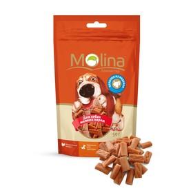 Лакомство Molina для собак мелких пород, палочки из индейки, 50 г