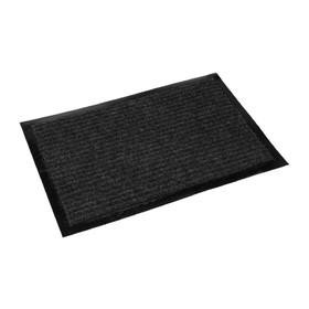 Коврик придверный «Классик» 40х60 см, цвет черный Ош