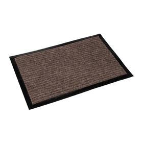 Коврик придверный «Классик» 40х60 см, цвет коричневый Ош