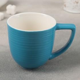Кружка Доляна «Дора», 250 мл, цвет синий