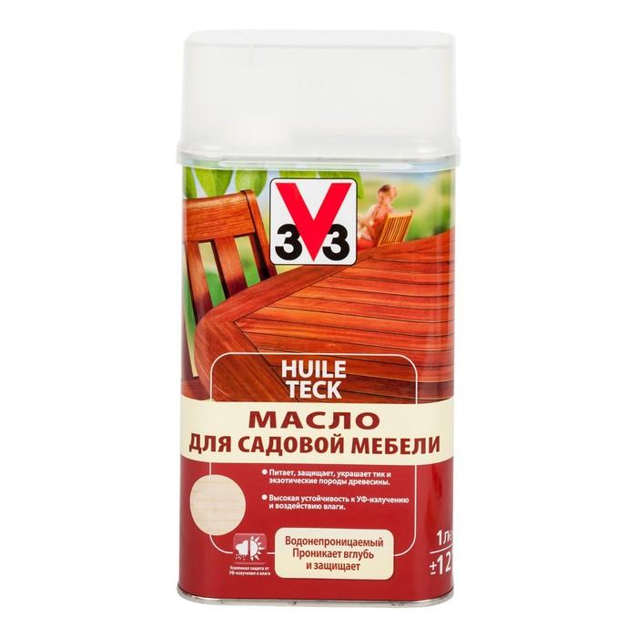 V33 Масло для садовой мебели 1л.