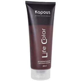 Оттеночный бальзам для волос Kapous Life Color, тон медный, 200 мл
