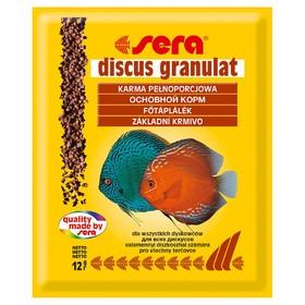 Корм для рыб Sera Discus Granulat для дискусов, в гранулах, 12 г