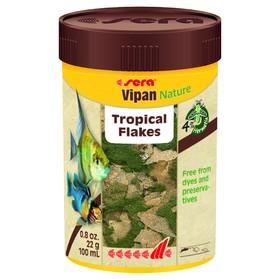 Корм Sera Vipan Nature для рыб, основной, в хлопьях, 100 мл, 22 г