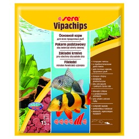 Корм Sera Vipachips для сомов и донных рыб, 15 г