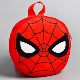 Рюкзак детский плюшевый, Человек-паук