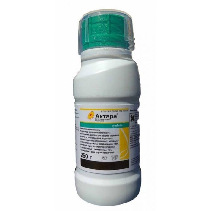 """Инсектицид """"Актара"""", ВДГ, для контроля комплекса сосущих и листогрызущих вредителей, 0,25 кг"""