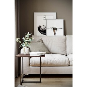 Стол журнальный «Бекко», 500 × 500 × 500 мм, МДФ, цвет акация