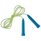 Скакалка с пластиковой ручкой, ПВХ, 2 м, цвета МИКС