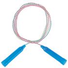 Скакалка, пластик, ПВХ, 2,3 м, d=4,3 мм, цвета МИКС - Фото 3