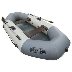 Лодка «Бриз» 240, цвет белый/серый Ош