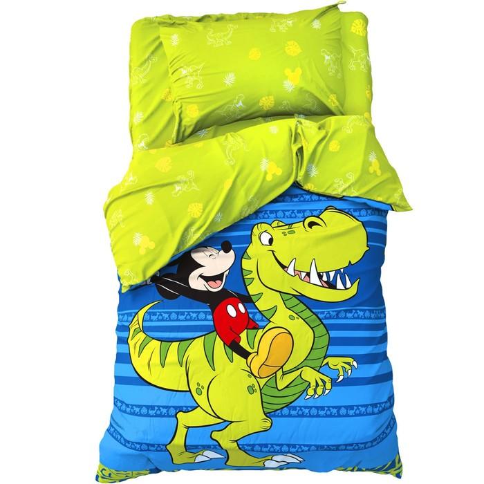 """Детское постельное бельё 1,5 сп """"Jungle"""", Микки Маус, 143*215 см, 150*214 см, 50*70 см -1 шт, поплин"""