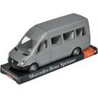Машина «Mercedes Sprinter пасажирский» на планшетке, цвет серый