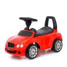 Толокар Bentley Continental GTC V8, звуковые эффекты, цвет красный