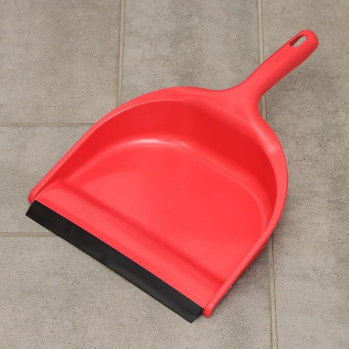 Совок для мусора Полимербыт, цвет МИКС