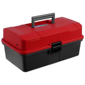 Ящик Helios двухполочный, цвет красный Ош