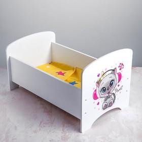 Кроватка «Котенок в наушниках»