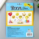 """Объёмная наклейка Room Decor """"Крутой смайлик"""" 17,5х18 см - Фото 4"""