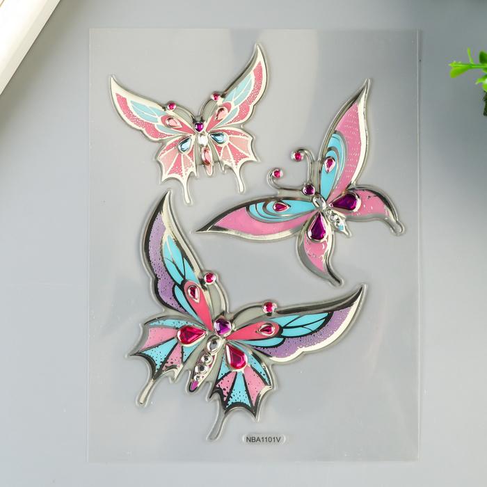 """Наклейки для ноутбука Room Decor """"Бабочки"""" 15х22 см"""