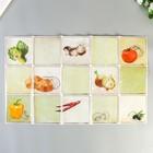 """Кухоннный фартук Room Decor """"Спелые овощи"""" 42,2х70 см"""
