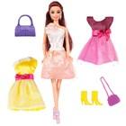 Кукла «Ася, яркий в моде», брюнетка, 28 см - Фото 2