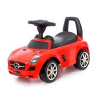 Толокар Mercedes-Benz SLS, звуковые эффекты, цвет красный