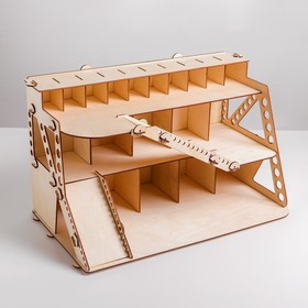 Сборная игрушка из дерева «Автопарковка»