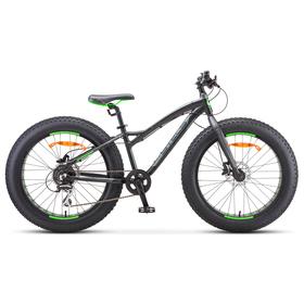 Велосипед 24' Stels Aggressor D, V010, цвет чёрный, размер 13,5' Ош