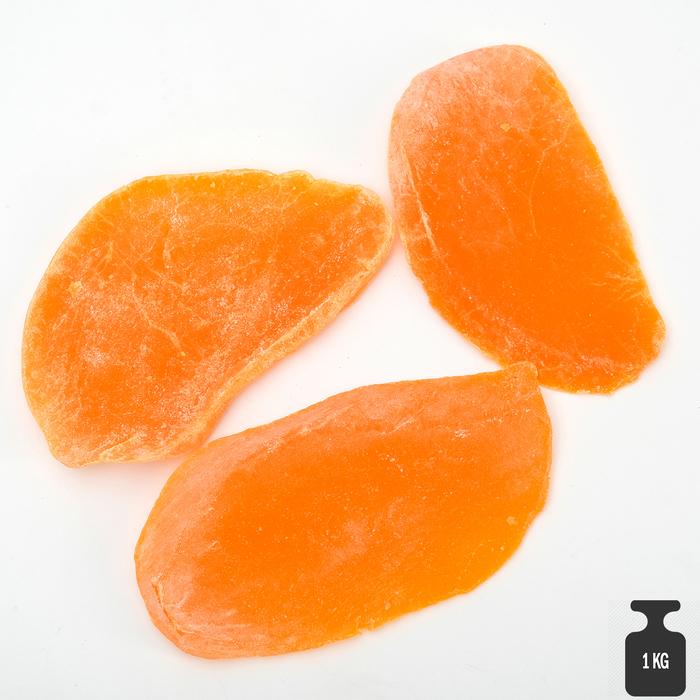 Манго оранжевый цукаты, 1 кг