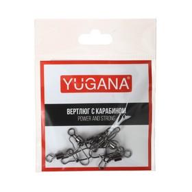 Карабин с вертлюгом Swivel with Snap №2, 34 кг, 6 шт. Ош