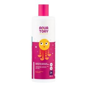 """Шампунь-бальзам для волос Aquatory """"Лёгкое расчёсывание"""" 3+,  380 мл"""