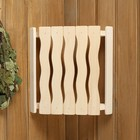 Абажур деревянный, угловой