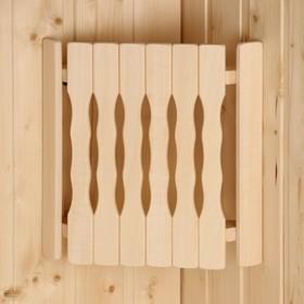 Абажур деревянный, угловой 'Плоский' Ош