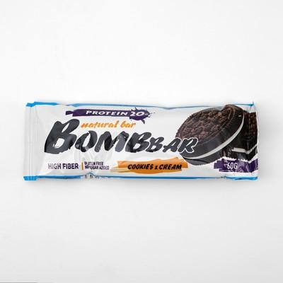 Протеиновый батончик BOMBBAR, печенье с кремом, 60 г - Фото 1